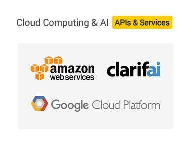 Cloud Computing and Artificial Intelligence APIs & Services
