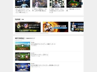 Sport Navi Live Website