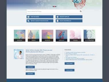 Responsive - Health Company Portal
