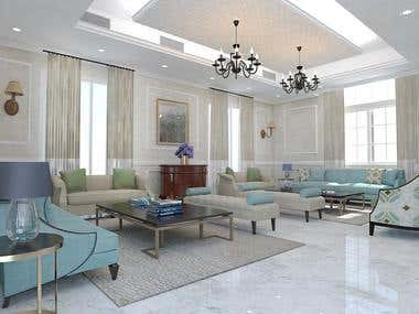 Interior Rendering Project - Abu Dhabi