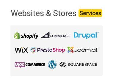 Websites and Stores APIs & Services