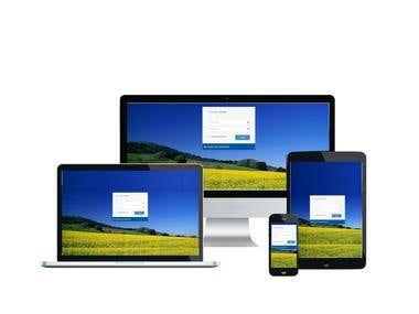 IOT - Web app AngularJS - .NET