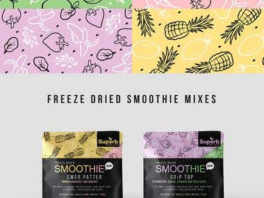 SUPERB FREEZE DRIED SMOOTHIE MIXES