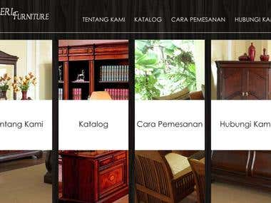 Product gallery website for mebeljatimurah.ga