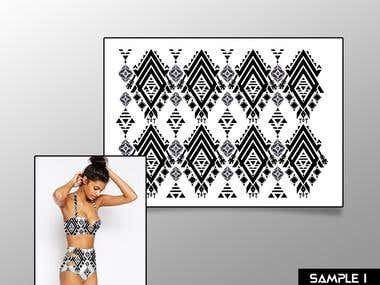 Swimwear (pattern and concept design) design