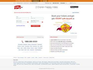 Travel Booking ( Bus , Train ,Flight Booking Website )