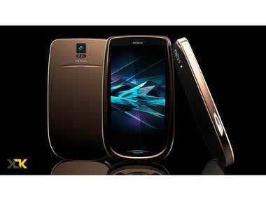 Concept Design of Modern Nokia 3310