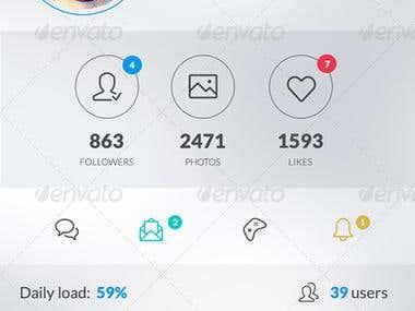 Profile Screens