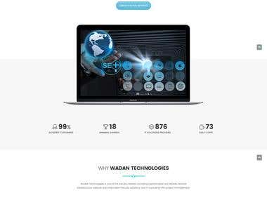 Wadan Tech. Website