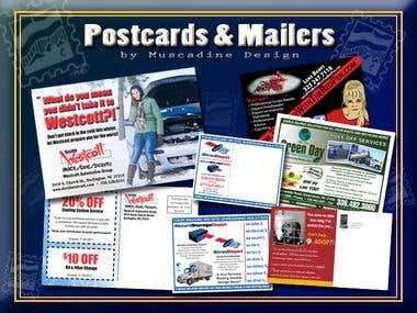 Postcard/Direct Mail Designs