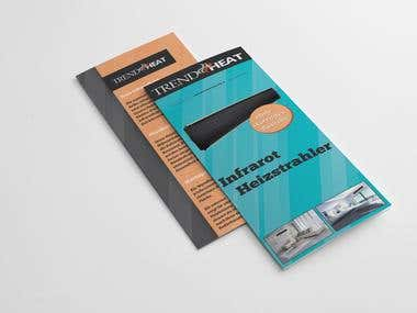 Trend Heat - Design brochure/web site/logo