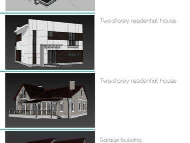 Building 3d modelling
