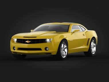 Camaro CC 3D Model