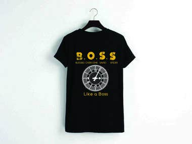 BOSS T- shirt design