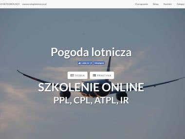 lotniczapogoda.pl | Front & Back End