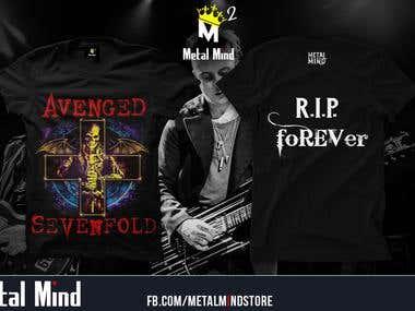 Avengened sevenfold t-shirt