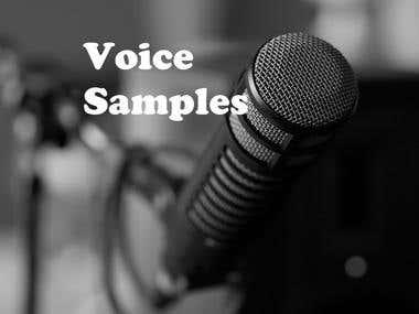 Voice Samples in German