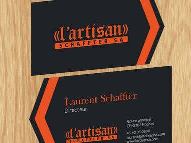 Business Card -   Schaffter