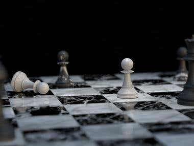 The Last White Pawn