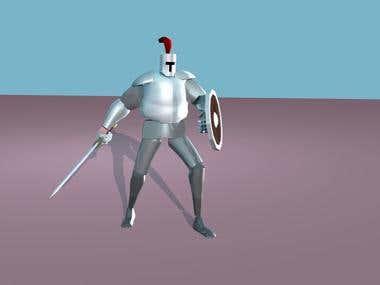 Knight Demo Animations