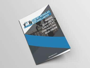 Corporate Brochure Design For TMN