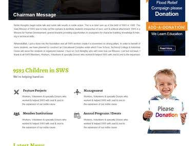 Website Design - SWS