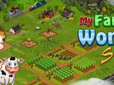 Child play game(My Farm)