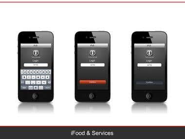 Graphic User Interface App / Interaction Design