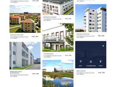 Minimal and modern website designs
