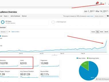 DRIVE TARGETED TRAFFIC THROUGH LINK BUILDING & SEO