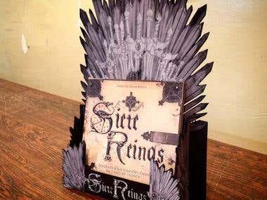 Siete Reinos Game of Thones Theme Book