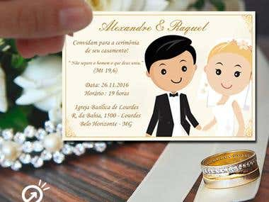 Marriage - Alexandre and Raquel