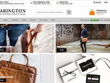 Marington magento Website