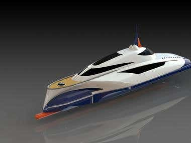High speed yacht
