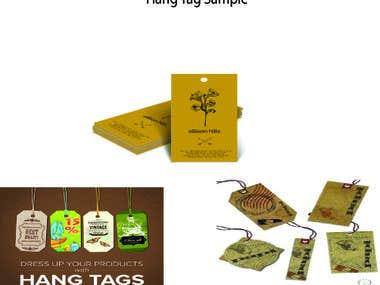 ★ hang tag