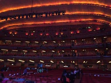 Radio City Music Hall Event NYC