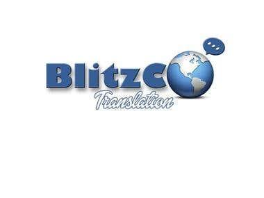 BlitzCo Translation Logo Contest