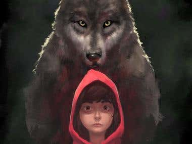Riding red Hood