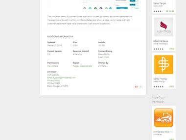 CRMSeries Sales app