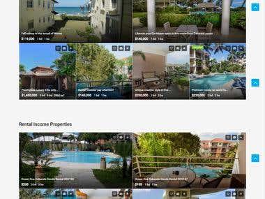 Real Estate Website - Property Listing