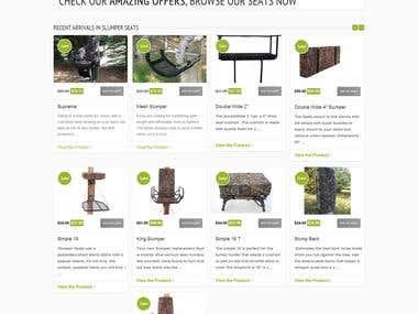 E-commerce Site for Slumper Seats