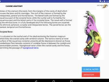 Android App- Vat- anatomy