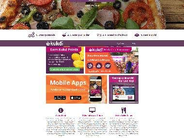 Online Food delivery with Kukd - Laravel