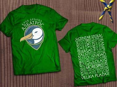 Logo and T-shirt