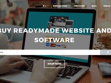 Readymade and Custom Website SCript and Theme Development