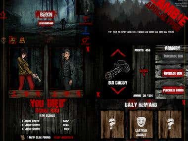 Zombie game design
