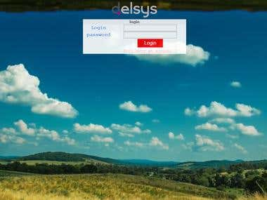 Design a Login Page with an animated wallpaper HTML5 / CSS