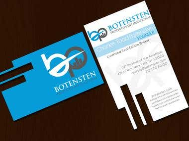 Business Card - Botensten Properties