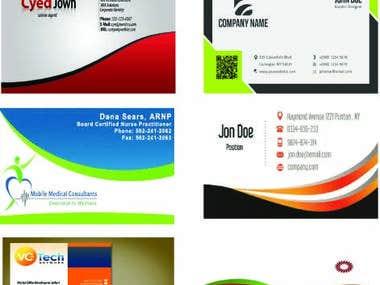 ★ business card design