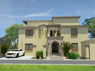 Private Villa design- Saudi Arab